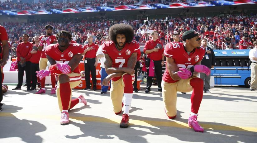 National anthem protestssurge